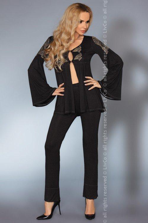 Aruna czarna piżama rozmiar - S