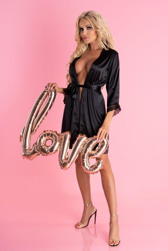Ariladyen Black LC 90568 Scallo Collection rozmiar - S/M