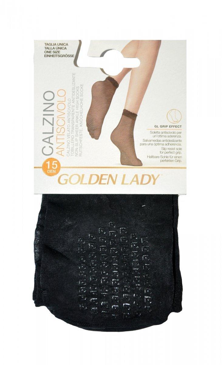 GOLDEN LADY cienkie skarpetki z ABS