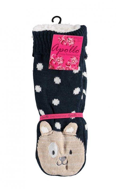 Skarpety RiSocks Apollo 33658 Home Socks With Fur 3D