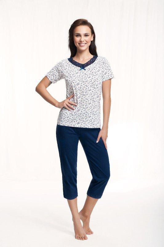 Piżama Luna 571 kr/r 3XL