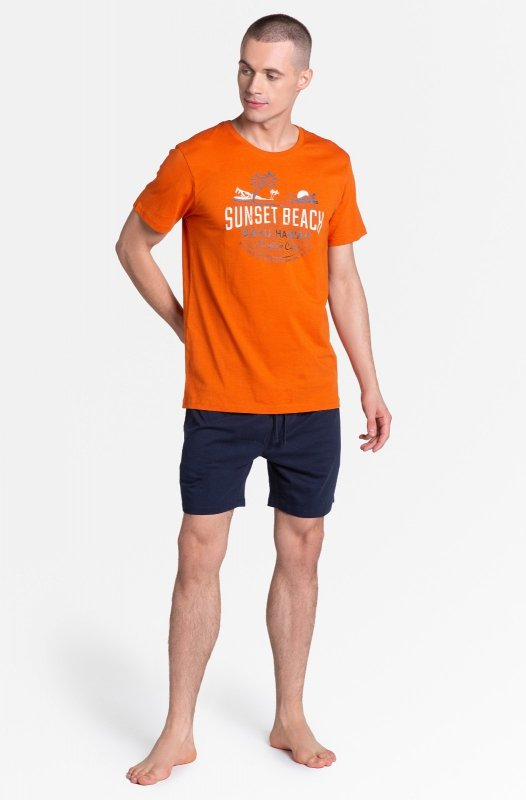 Piżama Henderson Core 38867 Led kr/r M-2XL