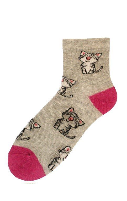 Skarpety Bratex 2344 Happy Socks Kids Girl 30-37