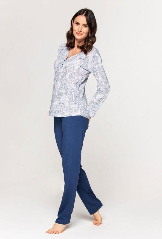 Piżama Cana 574 dł/r 2XL