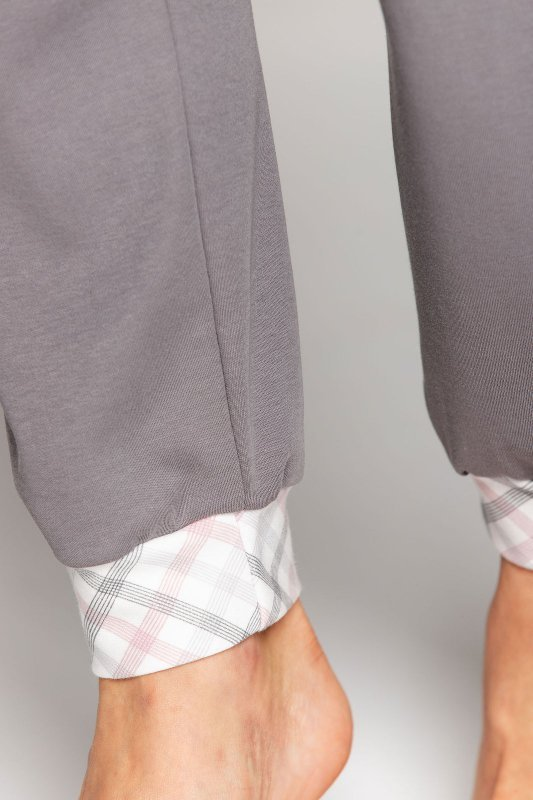 Piżama Cana 592 dł/r 3XL