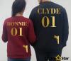 Bluzy dla par CLYDE, BONNIE