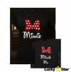 Koszulki dla mamy i córki Minnie & Minnie Me