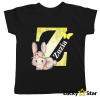Koszulka dziecięca inicjał + wybrane imię dziecka