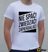 Koszulka Męska Nie spać! Zwiedzać! *