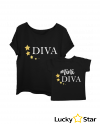 Koszulki Diva & mini diva