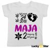 Koszulka dziecięca METRYCZKA dla dziewczynki