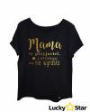Koszulka Damska Mama to przyjaciel...