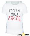 Zestaw koszulek Kocham moją ZOŁZĘ