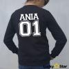 Bluzy DLA PAR 01 z Twoim imieniem