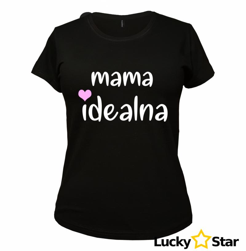 Zestaw koszulek Mama, córka idealna