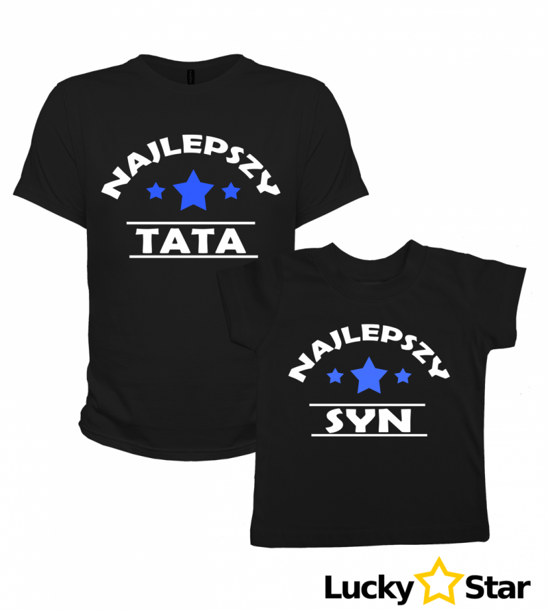 Zestaw koszulek Najlepszy TATA, SYN
