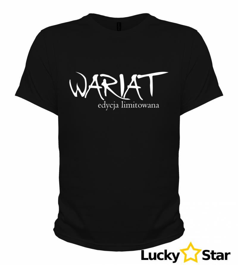 Koszulki dla par Wariat/Wariatka edycja limitowana