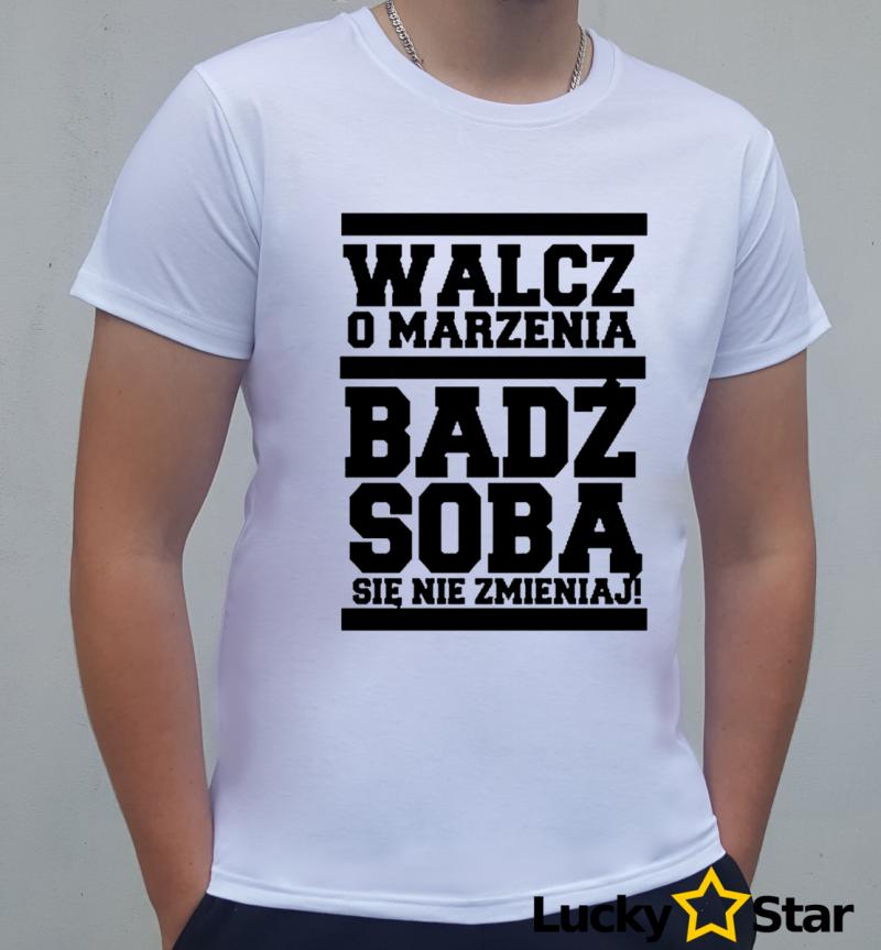 Koszulka Męska Bądź Sobą