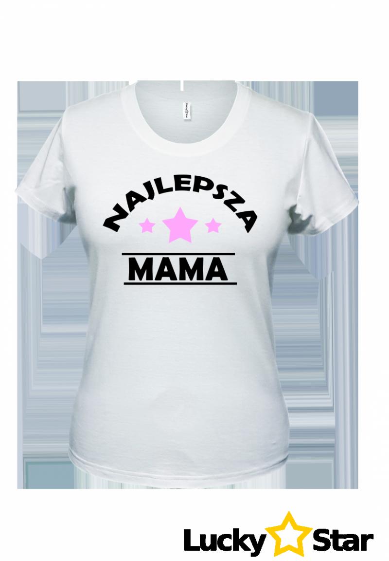Zestaw koszulek Najlepsza MAMA, CÓRKA