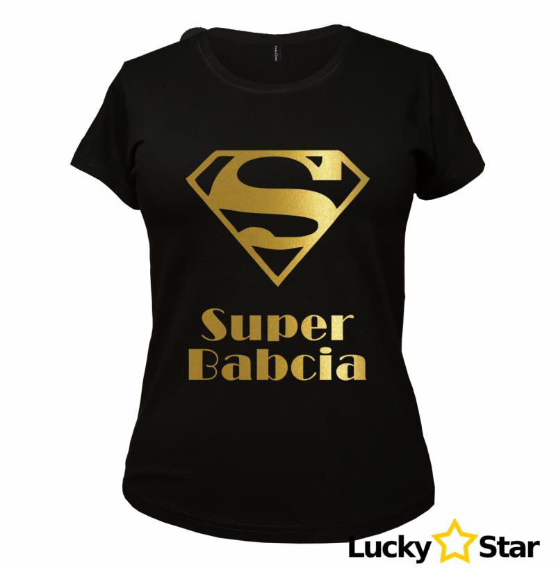 Koszulka Damska Suuuper Babcia