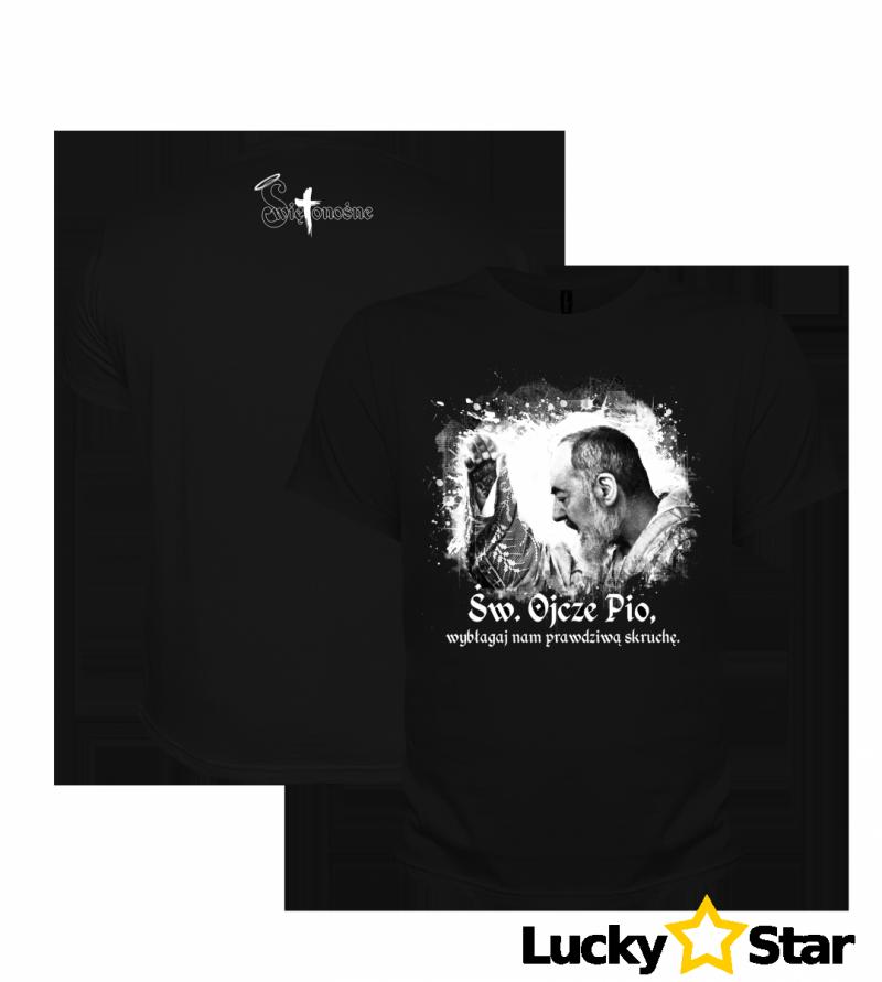 Koszulka Świętonośna - Św. Ojciec Pio