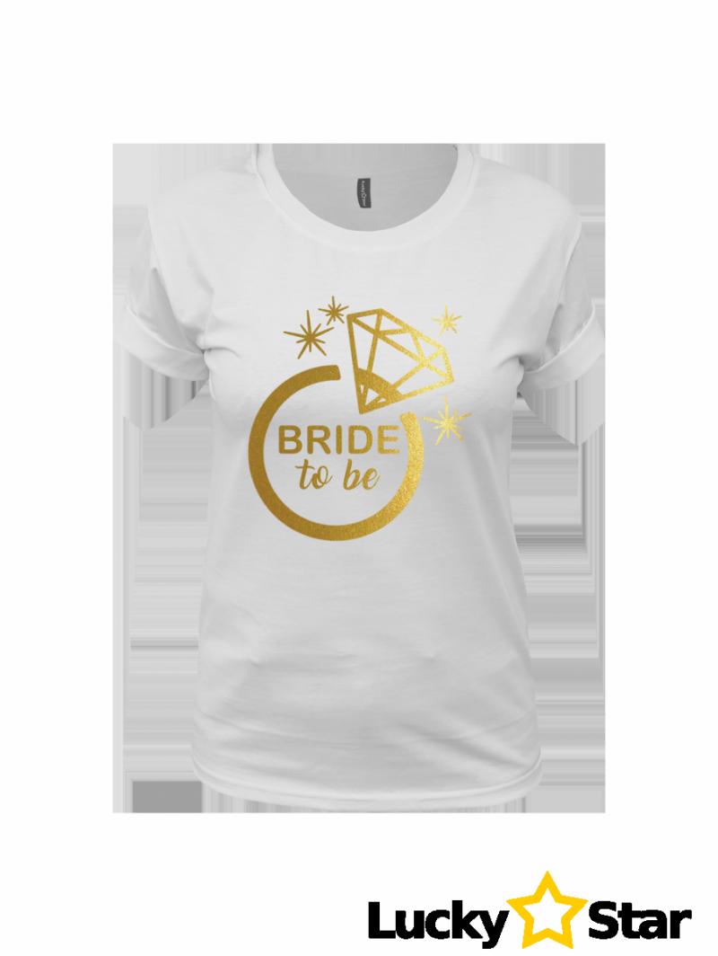 Koszulka Damska BRIDE to be