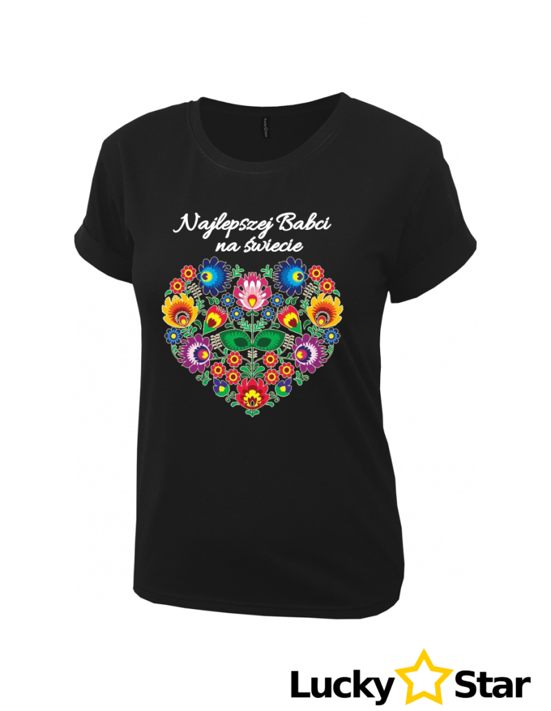 Koszulka Najlepszej Babci na świecie