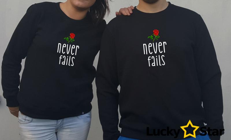 Bluzy dla Par Never fails
