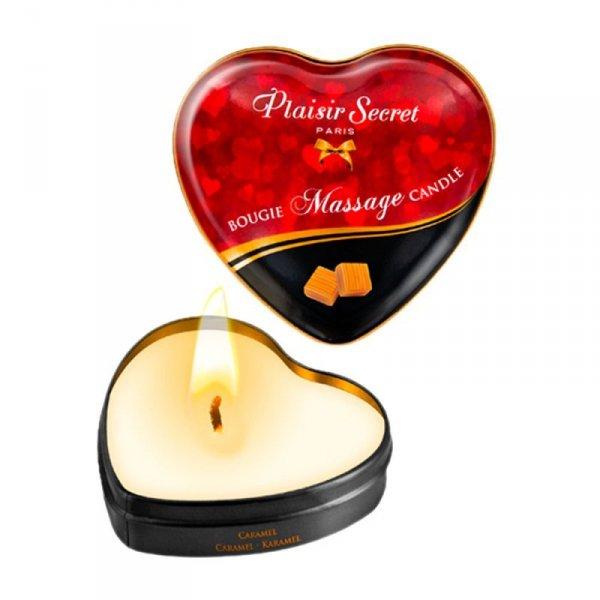 Świeca do masażu erotycznego o zapachu karmelu