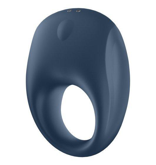 Wibrujący pierścień erekcyjny Strong One Ring sterowany aplikacją