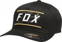 FOX CZAPKA Z DASZKIEM DETERMINED FLEXFIT BLACK
