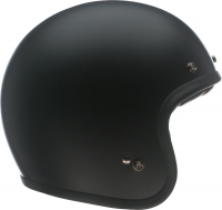 BELL KASK OTWARTY CUSTOM 500 DLX SOLID BLACK MATT