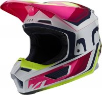 FOX KASK OFF-ROAD V-1 TRO YELLOW