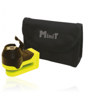 OXFORD blokada tarczy hamulocwej Mini Titan trzpień 5,5mm kolor żółto czarny