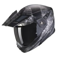 SCORPION KASK SYSTEMOWY ADX-1 BATTLEFLAGE MAT BK