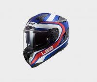 KASK LS2 FF327 CHALLENGER FUSION BLUE RED