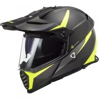 KASK LS2 MX436 PIONEER EVO ROUTER H-V YELLOW