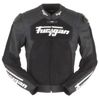 FURYGAN KURTKA MOTOCYKLOWA SPEED MESH BLACK-WHITE