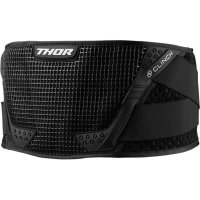 THOR PAS CLINCH SUPPORT BELT BLACK/WHITE =$