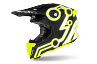 AIROH KASK OFF-ROAD TWIST 2.0 NEON YELLOW MATT