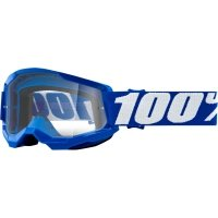100 PROCENT GOGLE STRATA 2 YOUTH GOGGLE BLUE CLEAR