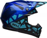 BELL KASK OFF-ROAD MOTO-9 MIPS TREMOR BLUE/BLACK
