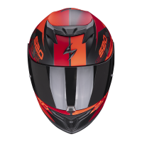 SCORPION KASK INTEGRALNY EXO-520 AIR COVER MA BK-R