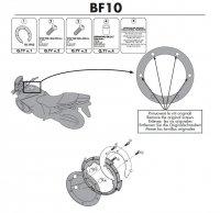 Givi BF10 Pierścień mocujący tanklock Suzuki DL
