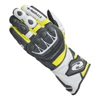 HELD RĘKAWICE SKÓR. EVO-THRUX II BLACK/FLUO YELLOW