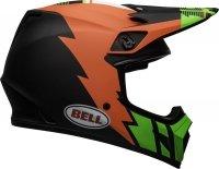 BELL KASK OFF-ROAD MX-9 STRIKE MATT INFRARED/GR/BL