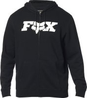 FOX BLUZA Z KAPTUREM NA ZAMEK LEGACY FHEADX BLACK