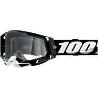 100 PROCENT GOGLE FA20 RACECRAFT 2 GOGGLE BLACK CL