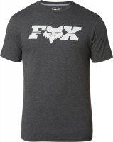 FOX T-SHIRT GENERAL TECH HEATHER BLACK