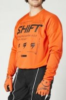 SHIFT BLUZA OFF-ROAD WHITE LABEL BLISS BLOOD ORANG